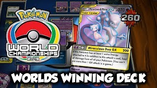 THIS DECK IS PERFECT | World Championship Winning Mewtwo & Mew Tag Team GX Deck Profile and Battles
