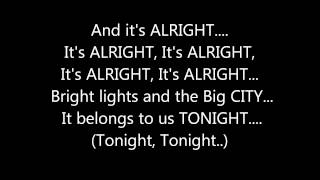 CEE LO GREEN - BRIGHT LIGHTS, BIGGER CITY **(LYRICS ON SCREEN)**