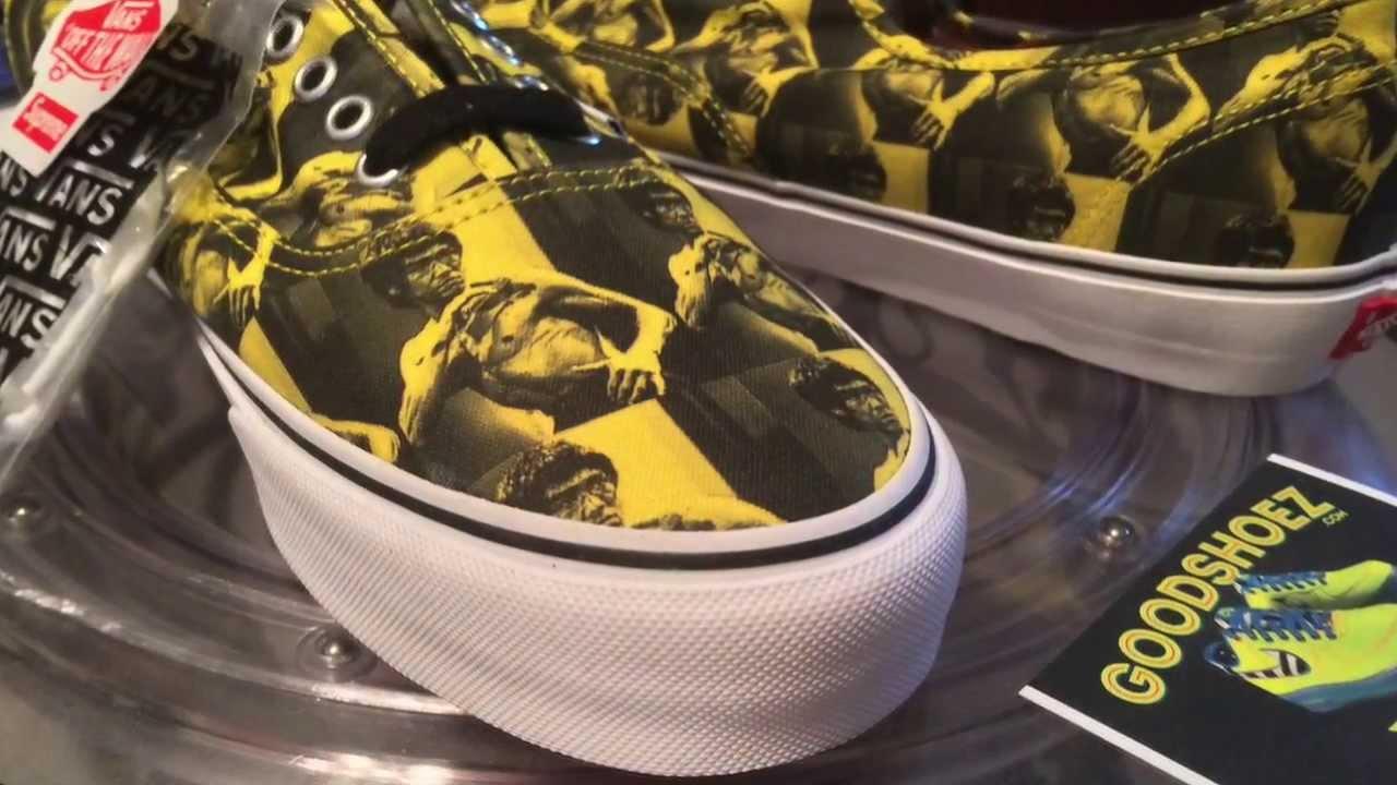VANS x Supreme Authentic Pro - (Bruce Lee) Yellow colorway - 11-28 ... 444f3cf256