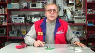 видео 39) Параметрические стабилизаторы напряжения: схемы, принцип действия.
