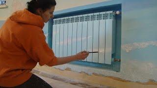 видео Как расписать стену своими руками: подробная инструкция для не-художников