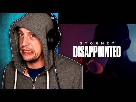 STORMZY - DISAPPOINTED (Wiley Diss) REACTION!!!