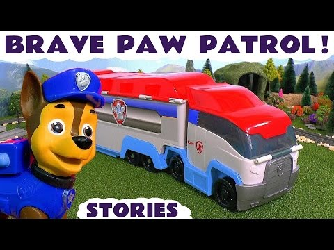 Thumbnail: Paw Patrol - Brave Toy Story Episodes for kids with Disney Cars McQueen and Peppa Pig Toys TT4U