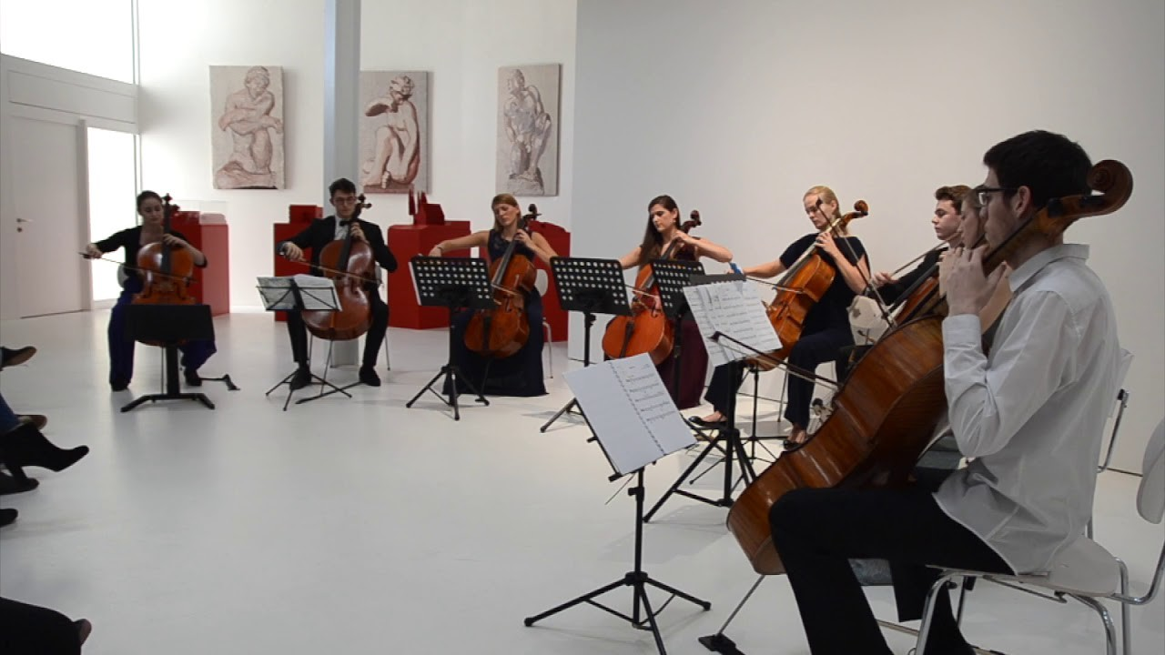 Beau Soir Debussy (Excerpts) - CELLO OCTET LUXEMBOURG