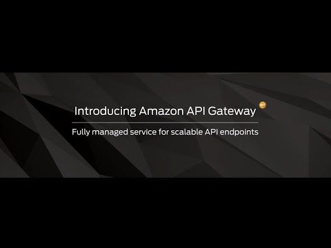 AWS Summit San Francisco 2015: Introducing Amazon API Gateway