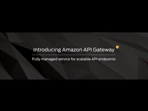AWS Summit San Francisco 2015: Introducing Amazon API Gateway
