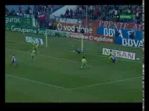 2007/08.- Atlético Madrid 1 Vs Real Murcia CF 1 (Liga - Jornada 22)