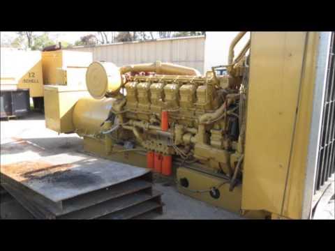 Caterpillar 3512STD Diesel 1100KW, 60Hz, 480V Generator Set