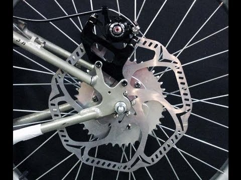 Motorized Rear Wheel Disc Brake Kit Youtube