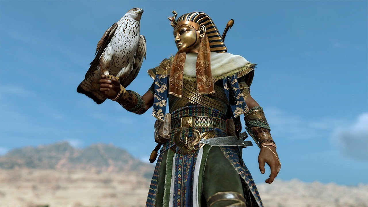 New assassin 39 s creed origins pharaoh outfit and undead mount youtube - Assassin s creed pictures ...