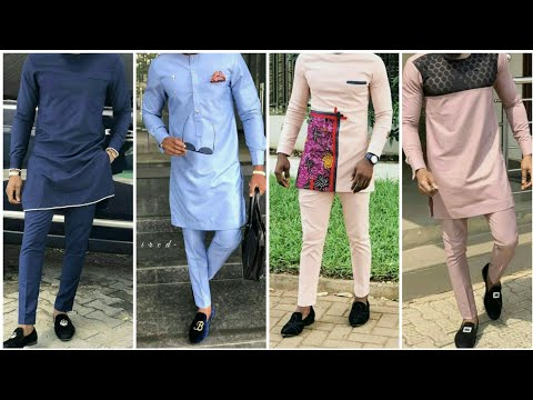 African clothing men kurta pajama design ||men's wear African clothing shirt's collection