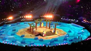 Super Bowl XLIX Halftime Show with Katy Perry, Lenny Kravitz and Missy Elliot #superbowl49
