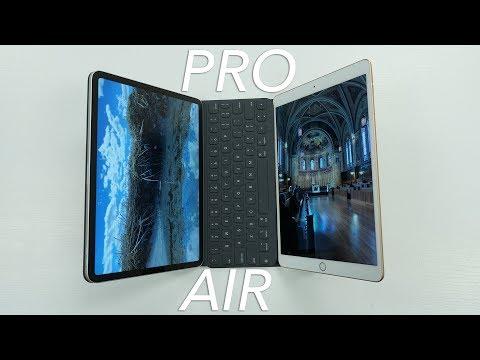 iPad Air 10.5 vs iPad Pro!