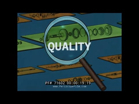 U.S. ARMY EVALUATION OF QUALITY CONTROL SYSTEMS FILM 1960s 71602