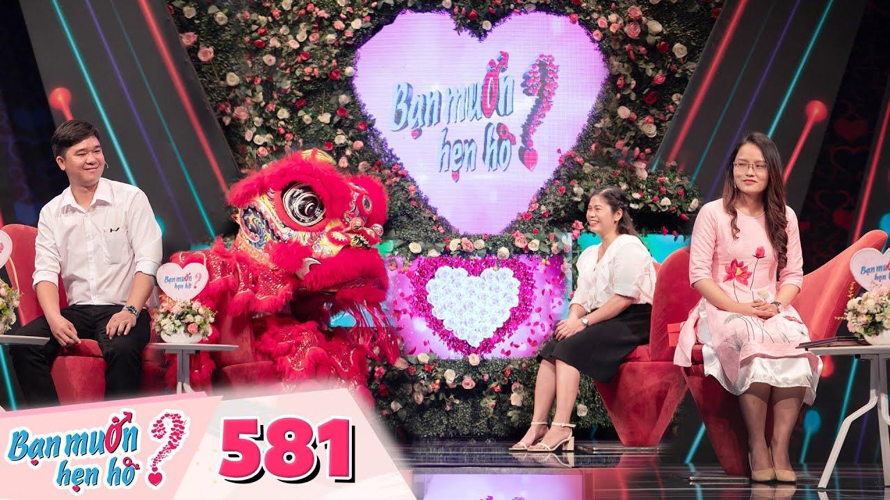 Bạn Muốn Hẹn Hò | Tập 581: Em trai Hồng Vân bất ngờ múa Lân trên sân khấu làm tan chảy cô ba Sài Gòn