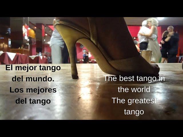 Lo mejor del tango en el mundo y de Buenos Aires