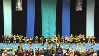 University of Regina Cheerleading - PCA UONCC 2012 - Run 2 - Small Co-ed - National Champs