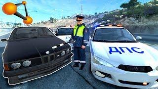 ПОГОНЯ ЗА СТАРОЙ BMW! ВОДИТЕЛЬ ПЬЯН! | BeamNG.drive