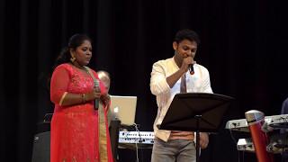 Siyad & Farida - Un mela oru kannu 4K - NJ Tamil Sangam 2017