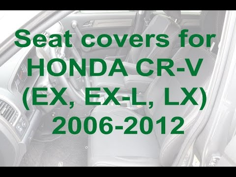 Seat covers for HONDA CR-V (EX, EX L, LX) 2006 2012 from MW-Brothers