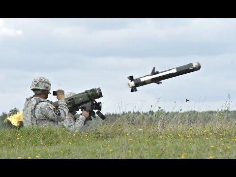 Tên lửa vác vai Javelin tối tân của Mỹ