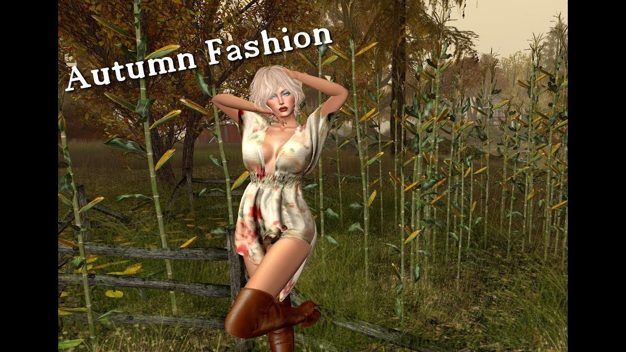 Fashion with Lizze – Autmn in Second Life