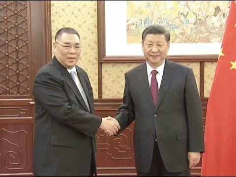 President Xi Meets Chief Executive of Macao SAR