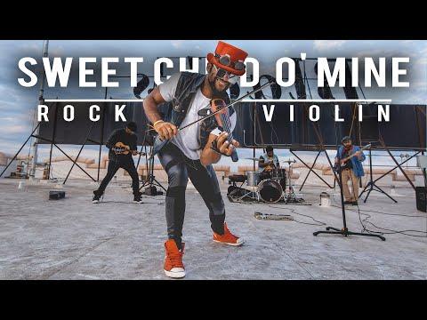 SHROOM - Guns N' Roses Sweet Child O' Mine Violin & Ukulele Cover [Video]