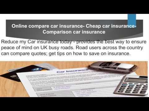 Online compare car insurance- Cheap car insurance-Comparison car insurance