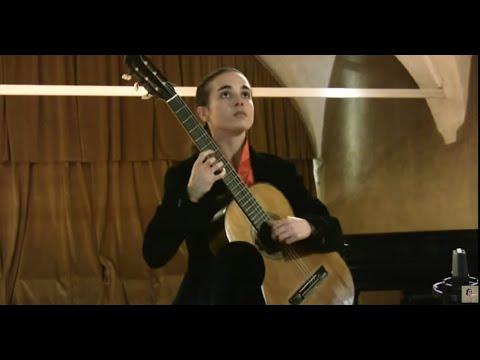 M. Ponce, Tres Canciones Populares Mexicanas - Federica Artuso, guitar