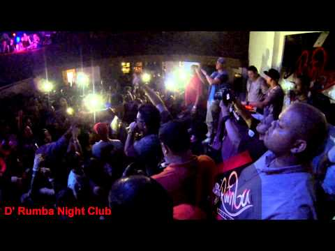 De la Ghetto Live FULL SHOW 18 octubre 2013 D' Rumba Night Club