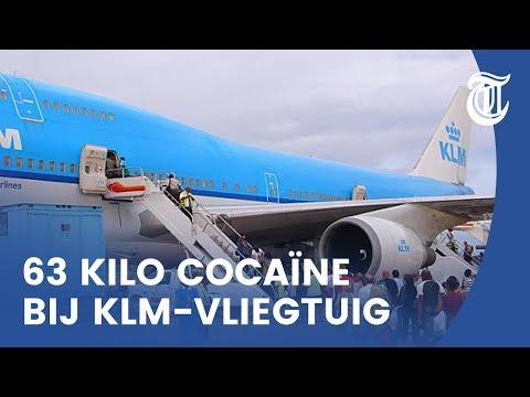 Luchthavenpersoneel smokkelt coke via KLM-kisten