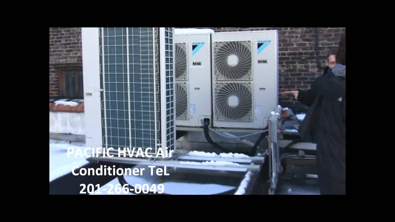 Daikin Vrv S Ductless Split Air Conditioning In Nyc Youtube