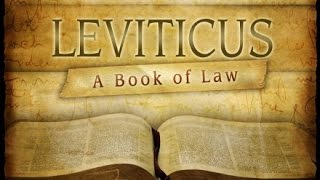 An overview of the book of Leviticus