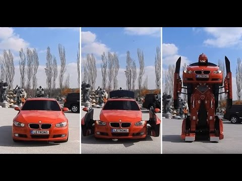 Austin James - BMW turns in to a Transformer