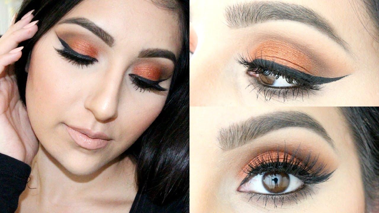 Maquillaje Con Tonos Calidos Pajaritabella Youtube