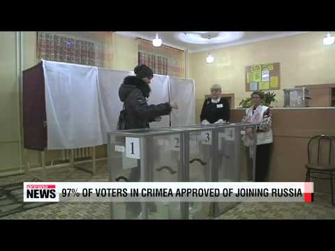 Russian President Putin declares Crimea's independence