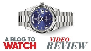 "Gambar cover Rolex Day-Date 40 ""President"" Watch Review 
