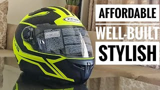 Zeus Helmet ZS 813 Unboxing: A Good Quality, Feature-Rich, Affordable Helmet