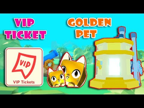 NEW UPDATE! WINTER WORLD + NEW GOLDEN PETS & VIP TICKET In PET SIMULATOR 2! [Roblox]