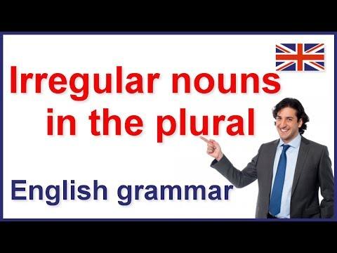 Irregular nouns in the plural | English grammar rules
