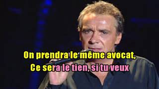 Watch Michel Sardou Divorce A Lamitie video