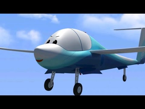 Airplane Videos For Kids - The Airport Diary - Soaring, Riding The Wind (cartoon 20)