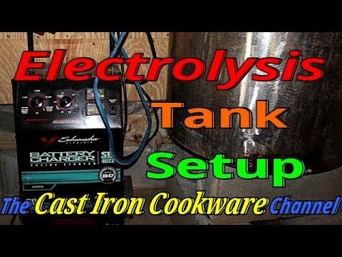 Electrolysis Tank Setup