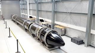 Electron Arrives at Rocket Lab Launch Complex 1