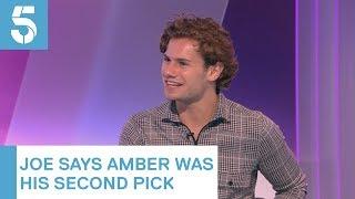 Love Island Amber Gill would have been my second choice, says Joe Garratt 5 News