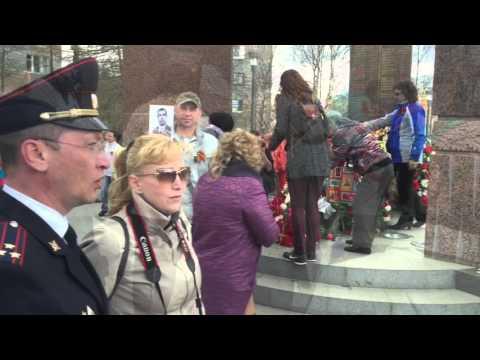 Видео — Бессмертный полк. Апатиты 9 мая 2016 года