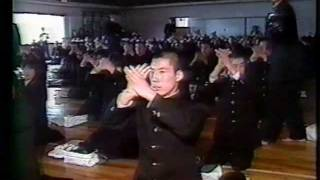 山梨県立日川高等学校 伝統の応援練習(昭和六十二年度)その一