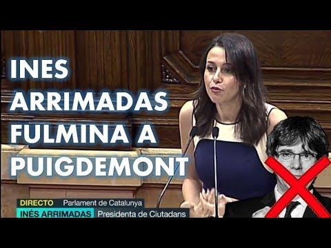 La MAGISTRAL intervención de INES ARRIMADAS que ha FULMINADO a PUIGDEMONT y al INDEPENDENTISMO thumbnail