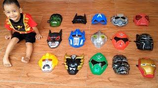 Wrong Masks Superhero ! Menyamakan Topeng Superhero Sesuai Dengan Kostum